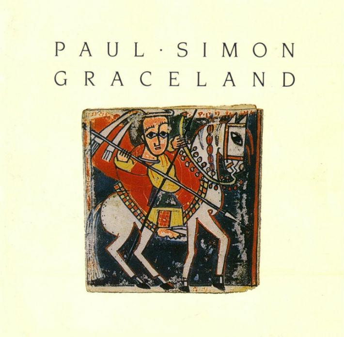 Paul Simon - Graceland sleeve