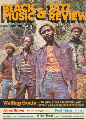 Black Music magazine - Wailing Souls