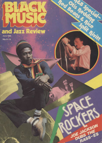 Black Music magazine - Space Rockers