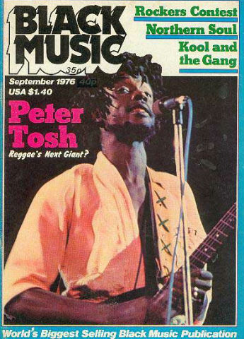 Black Music magazine - Pete Tosh