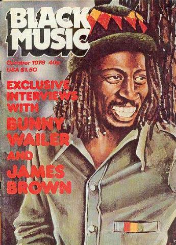 Black Music magazine - Bunny Wailer