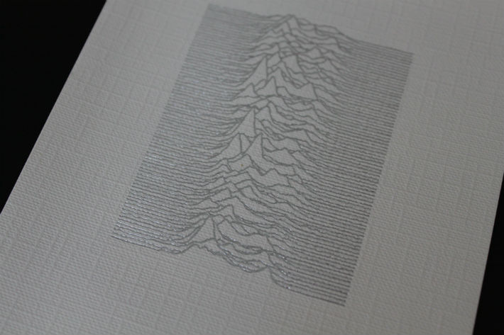 Unknown Pleasures Inlay
