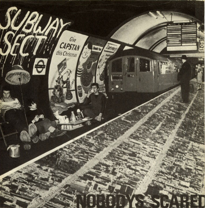 Subway Sect - Nobodys Scared