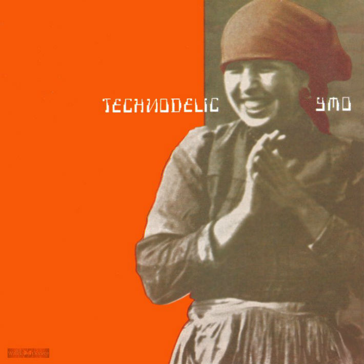 YMO - Technodelic LP