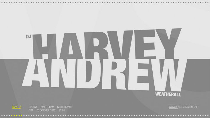 DJ Harvey and Andy Weatherall at Trouw