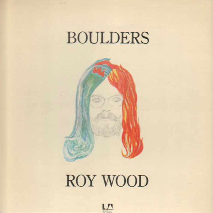 Roy Wood - Boulders LP Sleeve