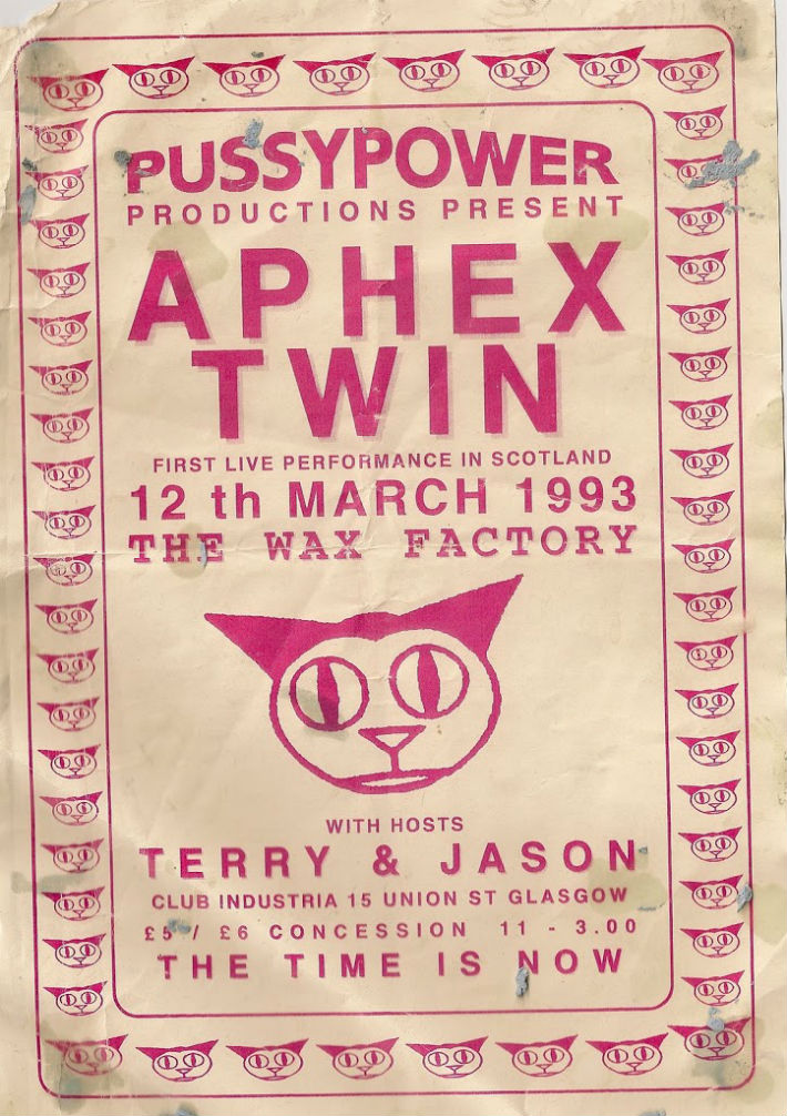 Aphex Twin at PussyPower