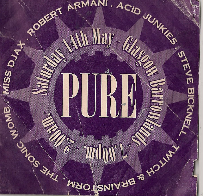 Pure at the Barras