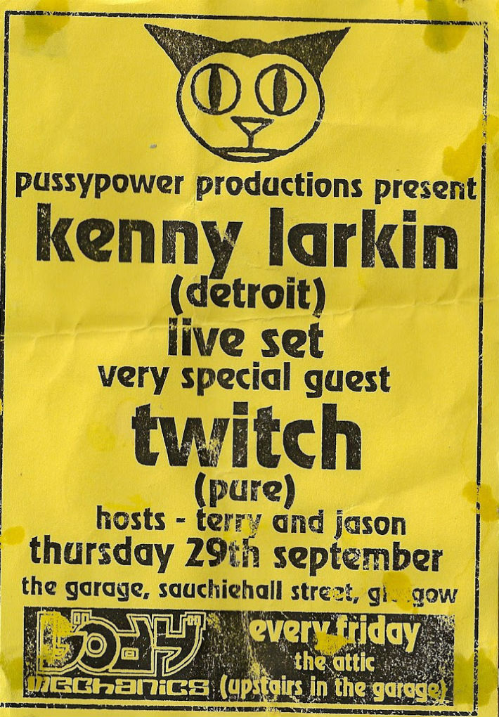 Kenny Larkin and Twitch at PussyPower