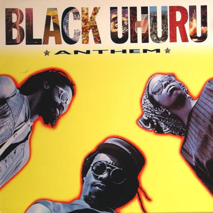 Black Uhuru - Anthem LP Sleeve