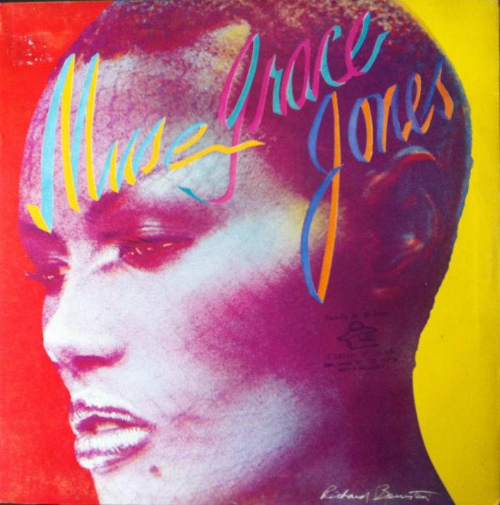 Grace Jones - Muse LP cover