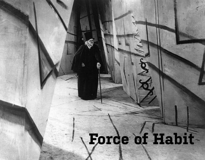 Listen to Force Of Habit on Racket Racket