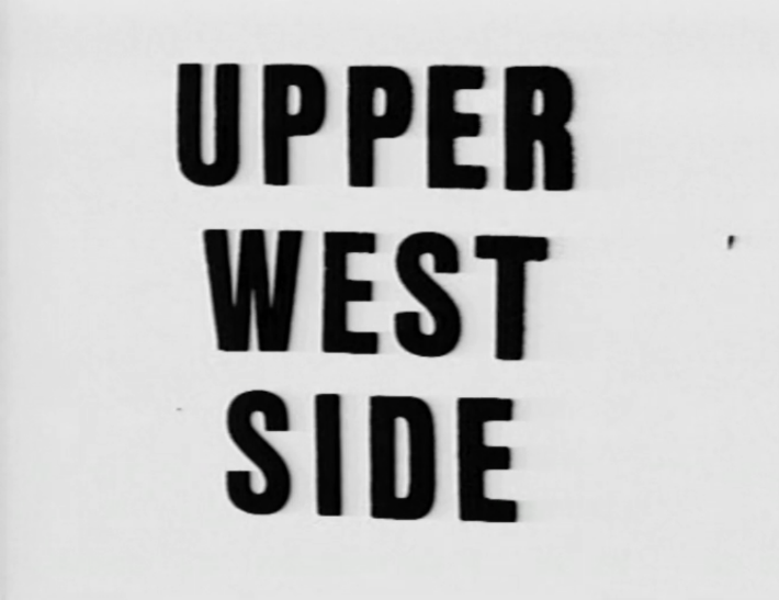 Watch Upper West Side 1977 on Racket Racket
