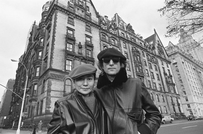 John & Yoko in NYC courtesy of coldwellbanker.com